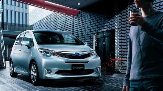 Subaru получила новый компактвэн путем бэйдж-инжиниринга