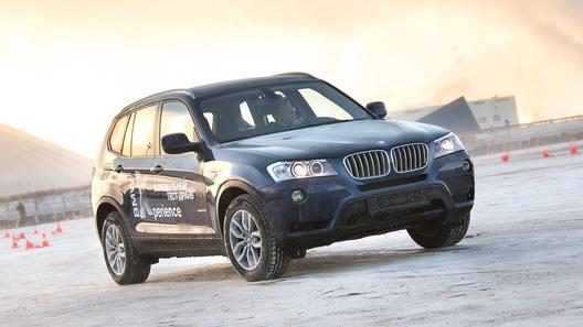 Встречаем суровую зиму на BMW X3