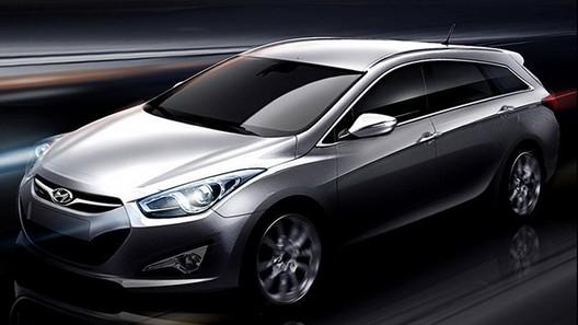 Появились официальные рендеры универсала Hyundai i40