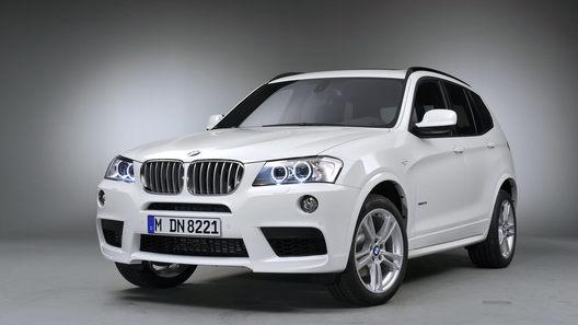 Новый BMW X3 получит спортпакет M-Package уже весной