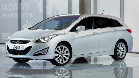 Hyundai i40 выходит на европейский рынок