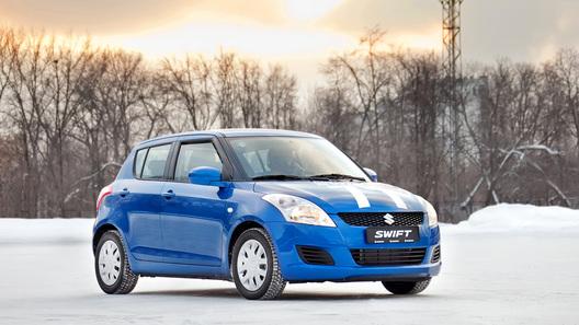 Обновленную Suzuki Swift показали в Москве