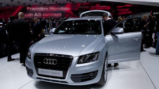 Audi представил в Женеве гибридный кроссовер