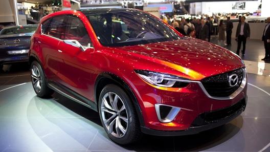 Mazda показала в Женеве кроссовер нового поколения