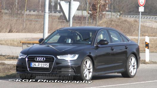 В Германии засекли новую Audi S6