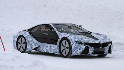 Спортивный гибрид BMW i8 испытывают за Полярным кругом