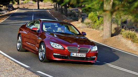 Купе BMW 6 Series обойдется россиянам в 3,4 млн рублей