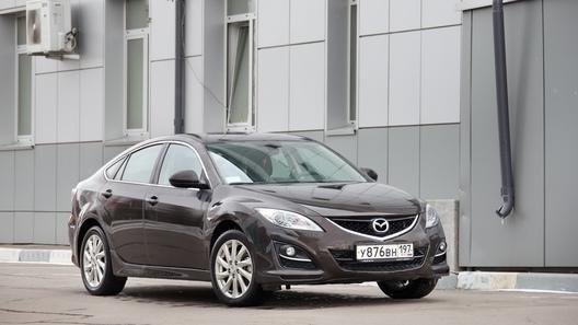 Mazda6 хэтчбек: часть 6 (6724 км)