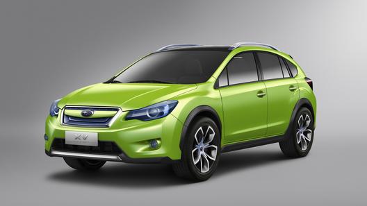 Концептуальный кроссовер представила компания Subaru