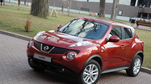 Первое знакомство с японской новинкой Nissan Juke