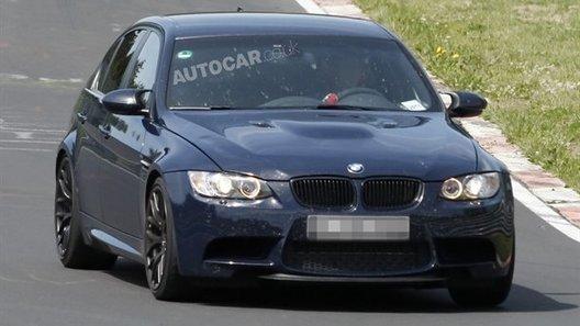 Шпионы засняли на тестах спецверсию седана BMW М3