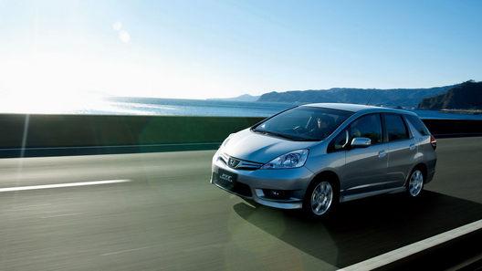 Стартовали продажи Honda Fit Shuttle, отложенные из-за землетрясения