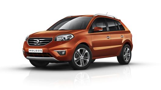 Обновленный Renault Koleos покажут во Франкфурте