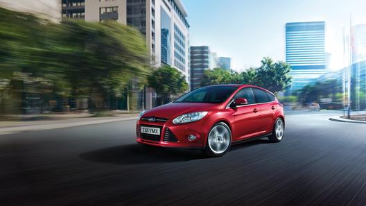 В России началась сборка нового Ford Focus