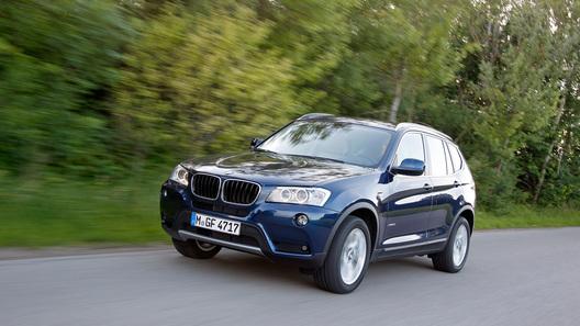 Осенью появятся новые модификации BMW X3