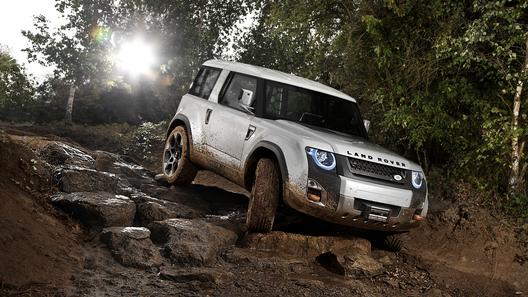 Land Rover показал прототип нового Defender