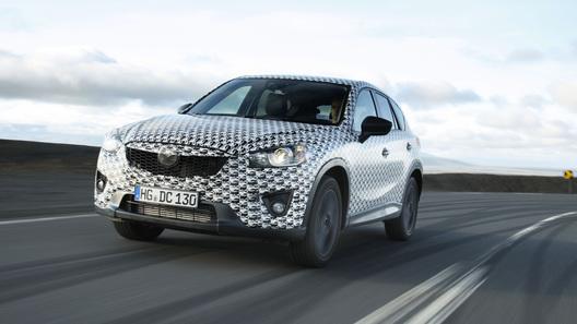 Mazda тестирует новый кроссовер CX-5