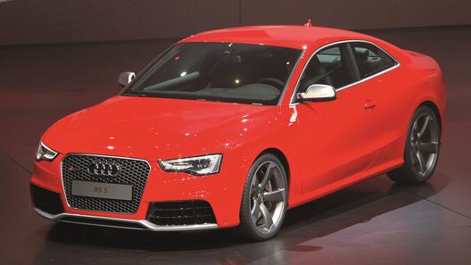 Компания Audi показала RS 5 после фейслифтинга