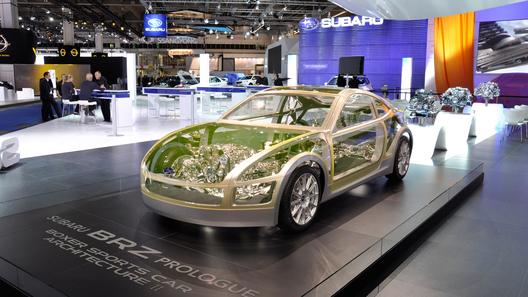 Subaru покажет концепт BRZ на Лос-Анджелесской выставке