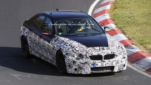 Новое поколение BMW M3 проходит тестирование