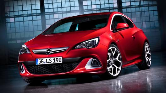 Рассекречен Opel Astra OPC