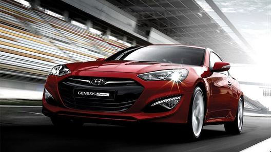 Рассекречен облик Hyundai Genesis Coupe