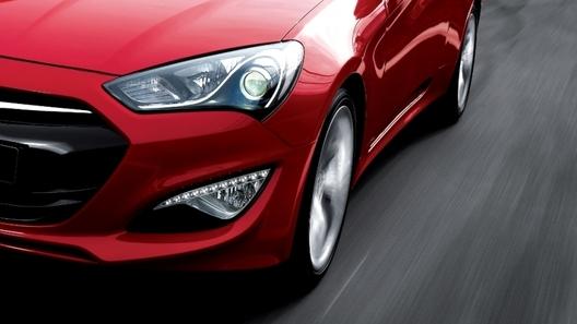 Обновленный Hyundai Genesis Coupe оказался мощнее, чем ожидалось