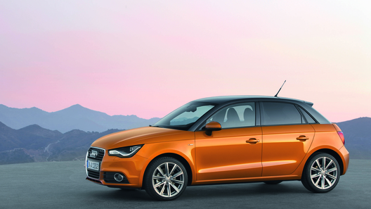 Audi представила пятидверный вариант хэтчбека A1