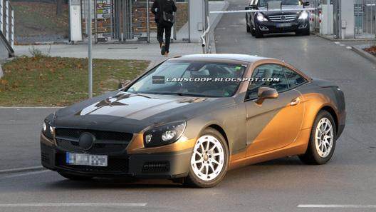Новый Mercedes-Benz SL станет алюминиевым