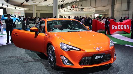 Toyota GT 86 в Европе будет на 10 тысяч евро дороже, чем в Японии