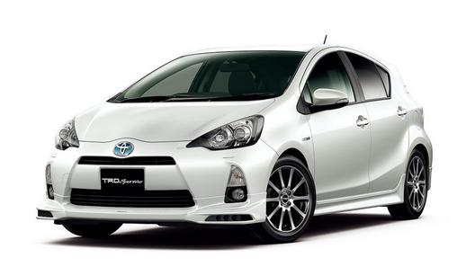 Toyota Aqua уже получила несколько тюнинг-пакетов