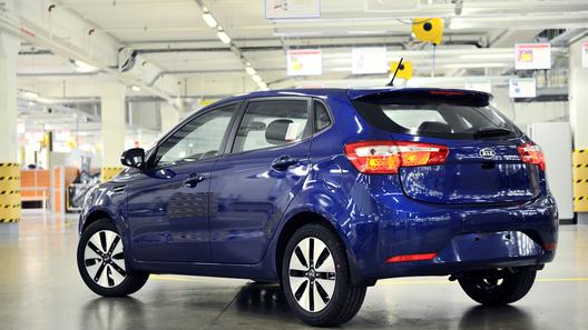 Kia начала производство Rio в кузове хэтчбек