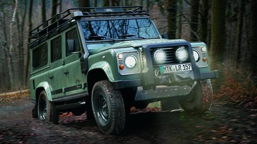 Land Rover выпускает охотничий Defender