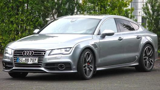 Два двигателя Audi A7 получили несколько программ доработки