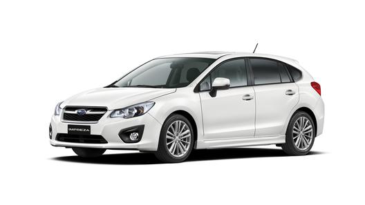 Subaru привезет в Женеву Impreza в кузове хетчбек