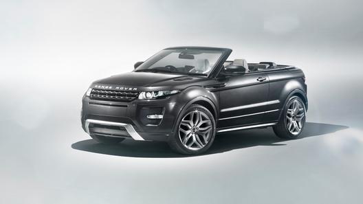 Land Rover покажет в Женеве кабриолет на базе кроссовера Evoque