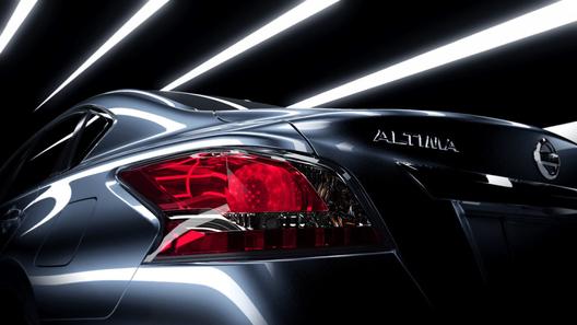 Появился очередной тизер нового Nissan Altima