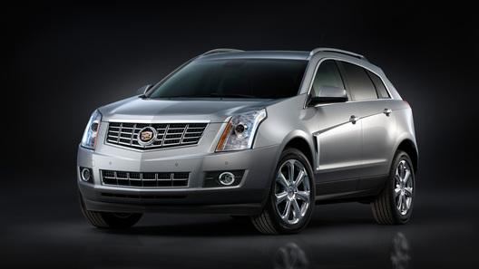 В Нью-Йорке покажут обновленный Cadillac SRX
