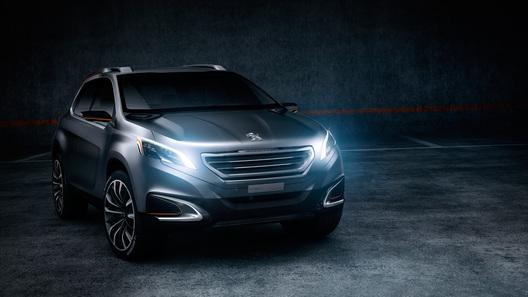 Peugeot привез на автосалон в Пекин концепт нового кроссовера
