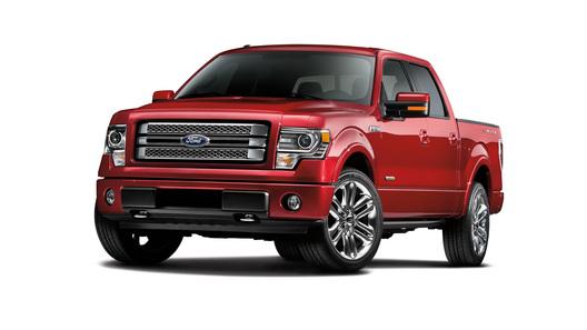 Ford выпустит самую роскошную версию знаменитого пикапа F-150