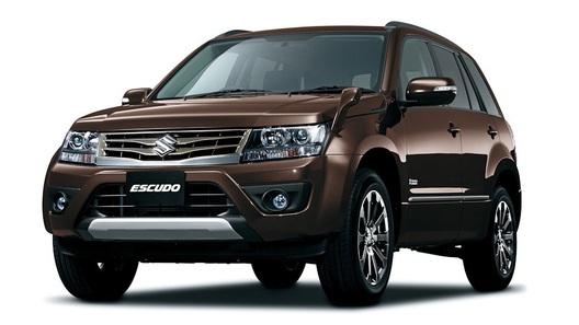 Suzuki привезет на Московский автосалон обновленную Grand Vitara