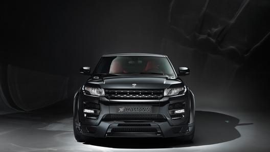Range Rover Evoque переодели в брутальное платье