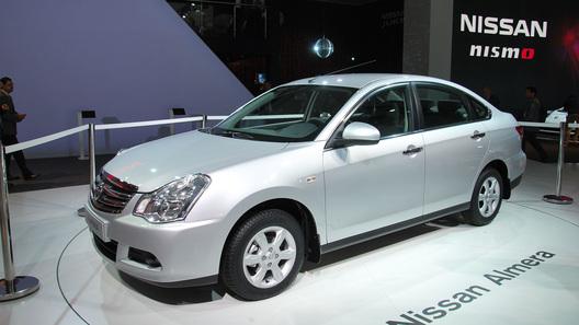 Новый Nissan Almera будет стоить от 500 тысяч рублей