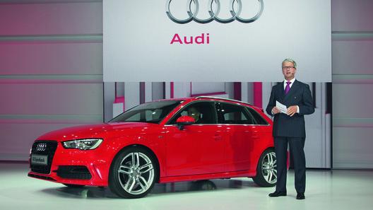 Audi показал пятидверный А3 Sportback и