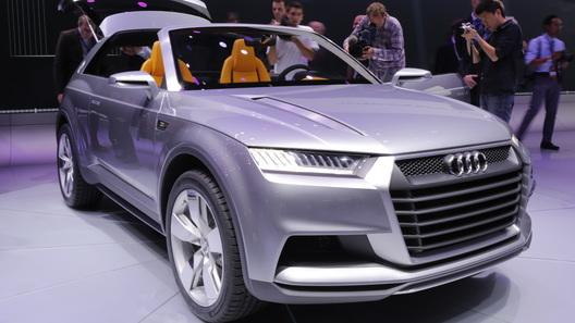 Audi готовит к производству самый большой внедорожник