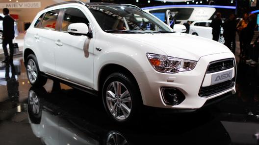 Обновленный Mitsubishi ASX презентован в Париже