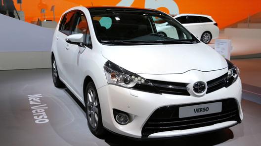 Новый Toyota Verso будет стоить в России от 820 тысяч рублей