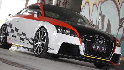 Audi TT-RS получил проект комплексной доработки из Тайваня