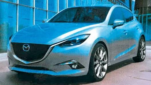 Опубликованы фотографии новой Mazda3