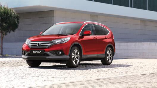 Honda начинает российские продажи нового поколения CR-V